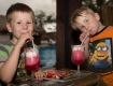 Kids enjoying Drinks|Aquana Beach Resort